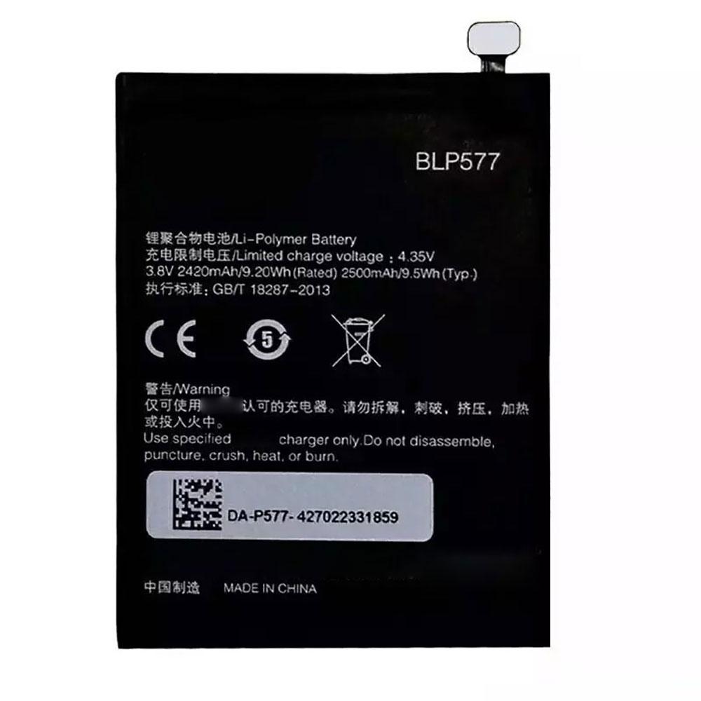 Oppo BLP577 交換バッテリー