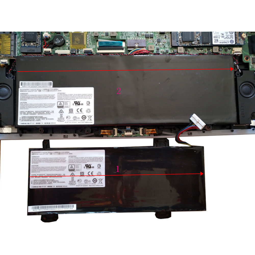 MSI GS30 2M 001US 2M-013CN MS-13F1 MS1-13F1