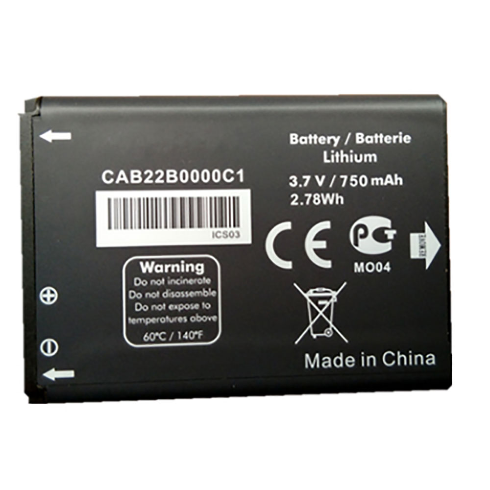 Alcatel CAB22D0000C1 交換バッテリー
