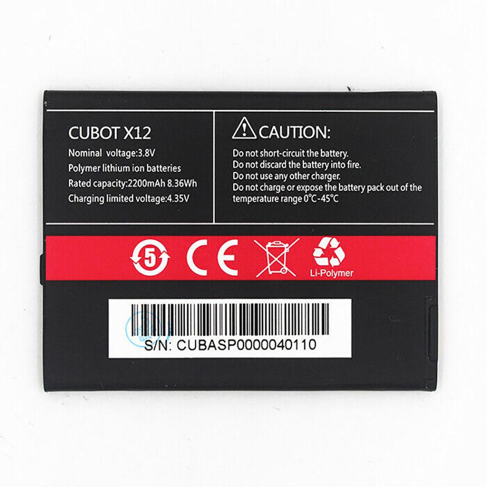 Cubot X12 交換バッテリー