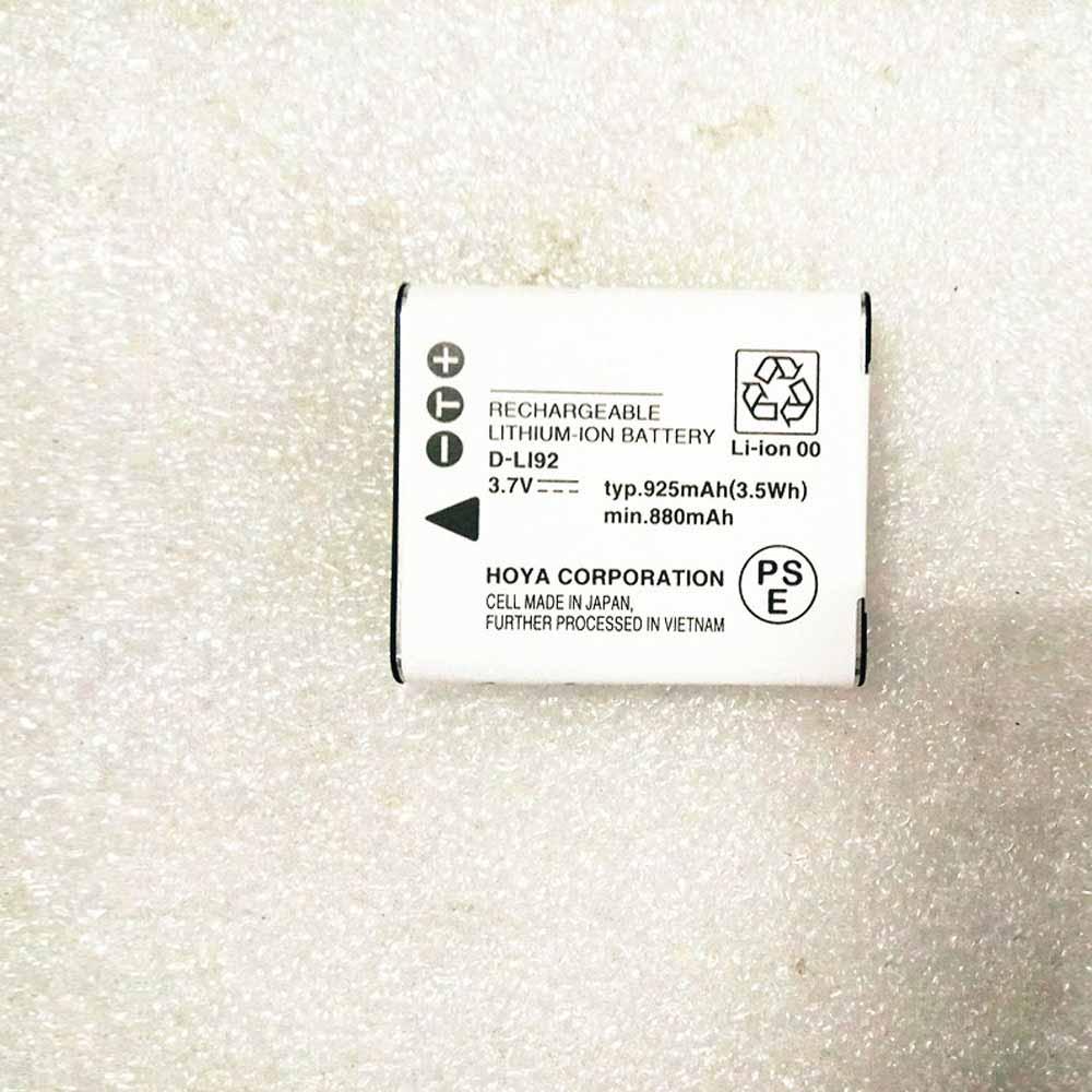 Pentax DLI92 交換バッテリー