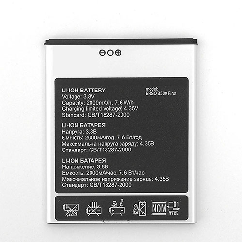 ERGO B500 交換バッテリー