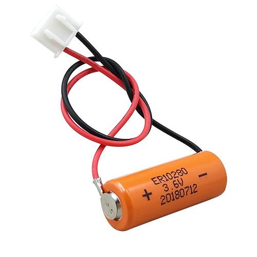 20pcs Mitsubishi FX2NC-32BL ER10/28 3.6V ER10280 PLC Battery with white plug