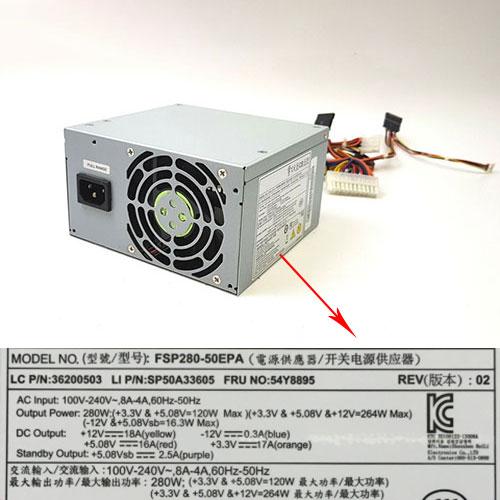 FSP FSP280-50EPA 24-Pin ATX