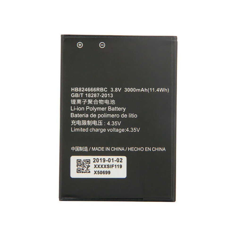 HUAWEI HB824666RBC 交換バッテリー