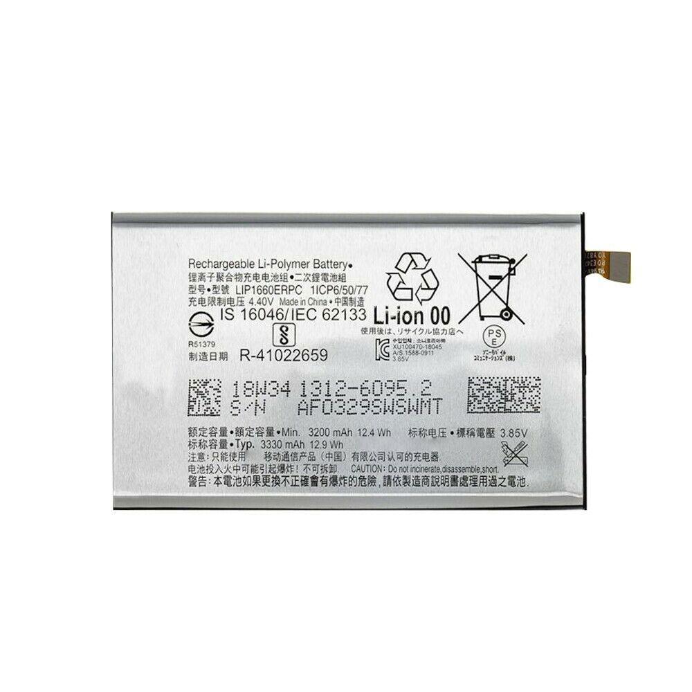 Sony LIP1660ERPC 交換バッテリー