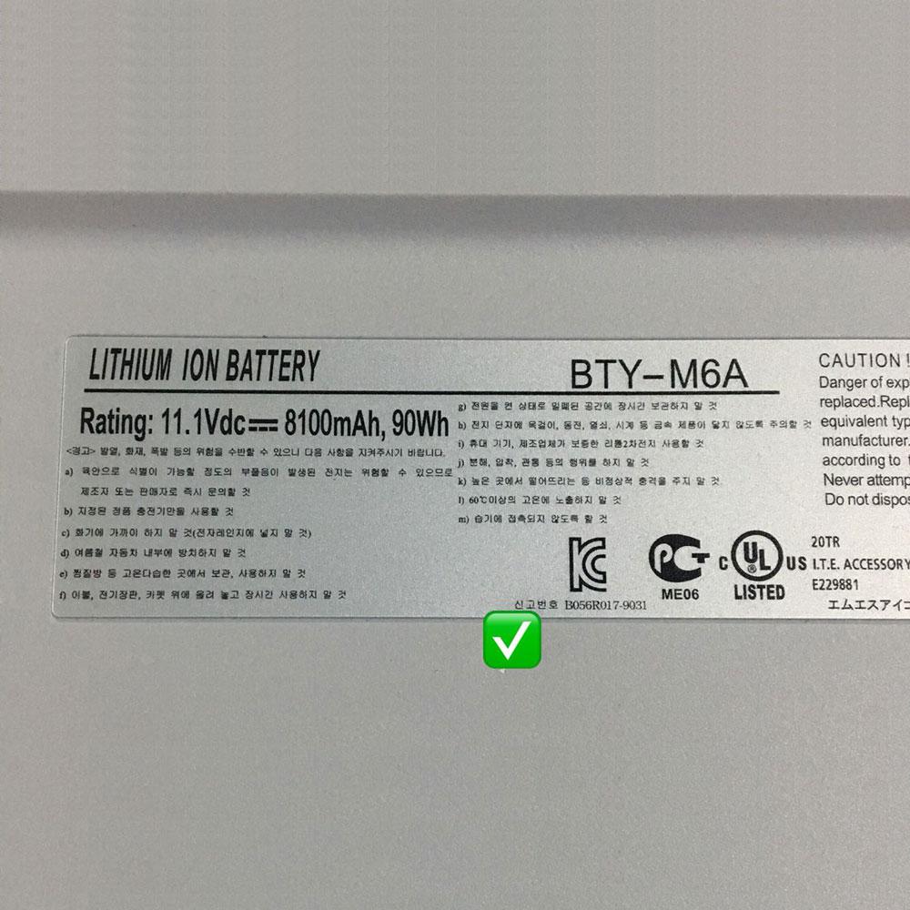 MSI X-Slim X600 15.6 inch Series NBPC623A