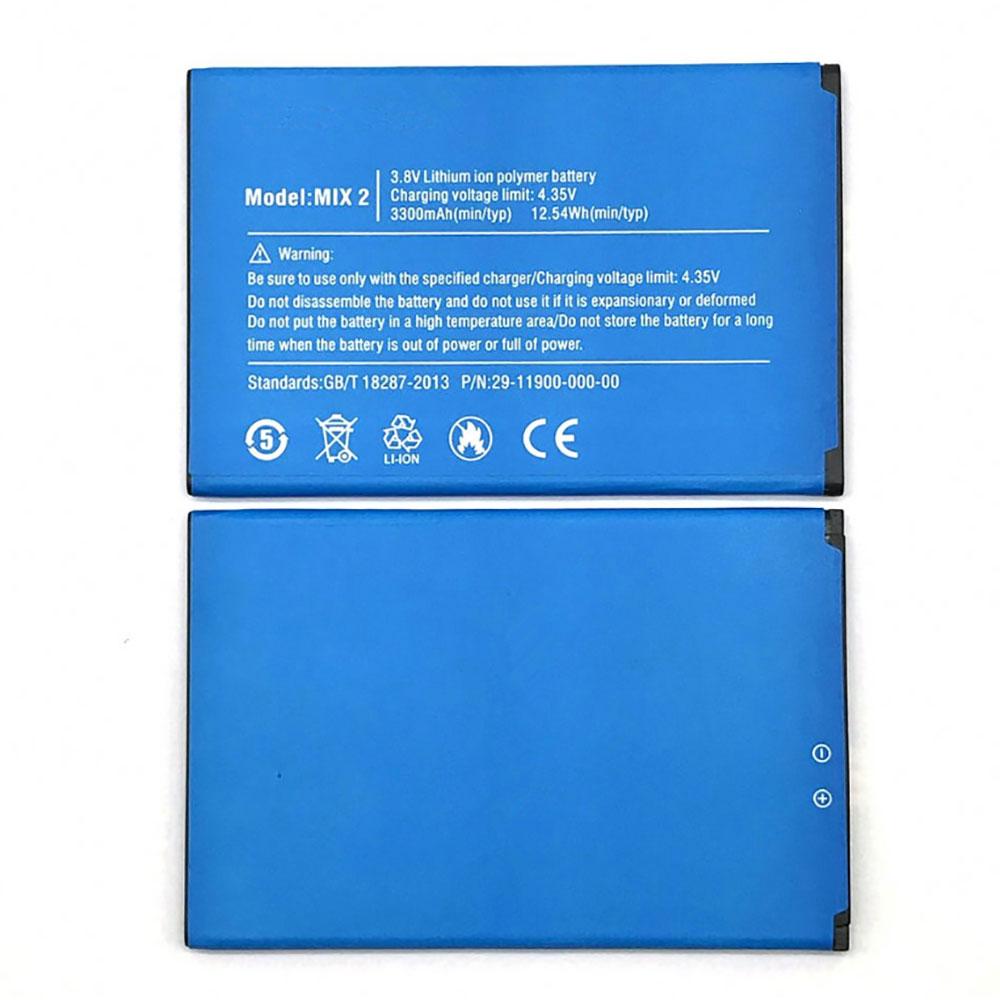 Ulefone MIX2 交換バッテリー
