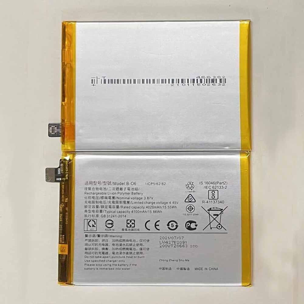OPPO B-O6 交換バッテリー