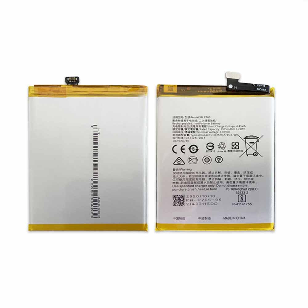 OPPO BLP765 交換バッテリー