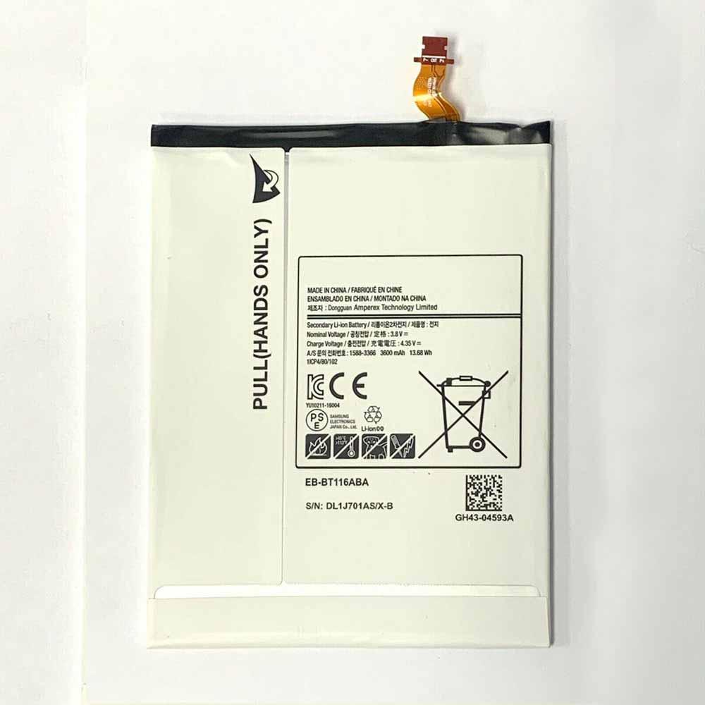 Samsung EB-BT116ABA 交換バッテリー