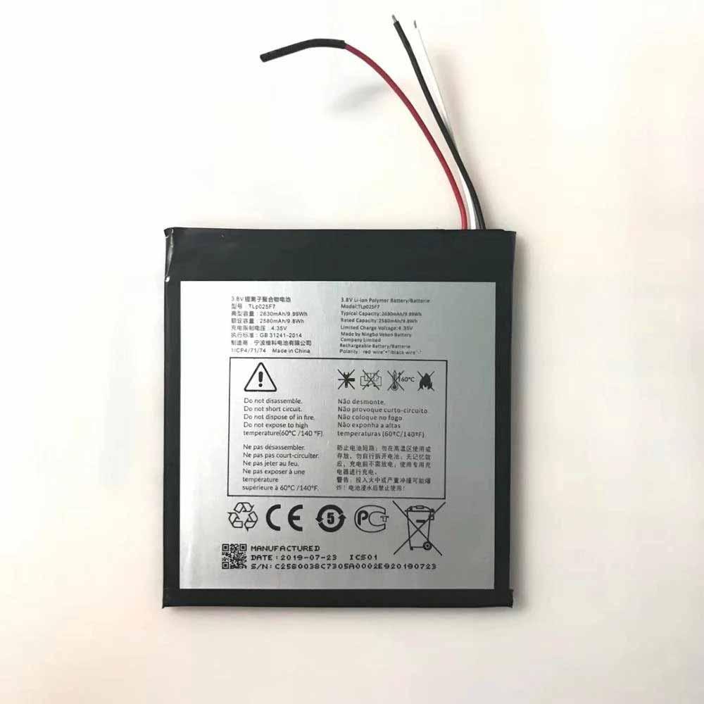 Alcatel TLp025F7 交換バッテリー