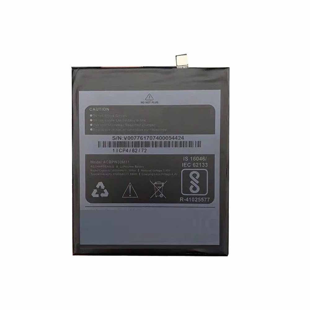 Micromax ACBPN30M11 交換バッテリー